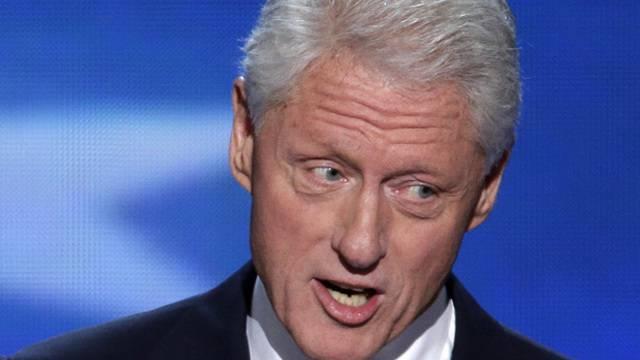 Neuerdings Fan und Nutzer von Twitter: Bill Clinton (Archivbild)