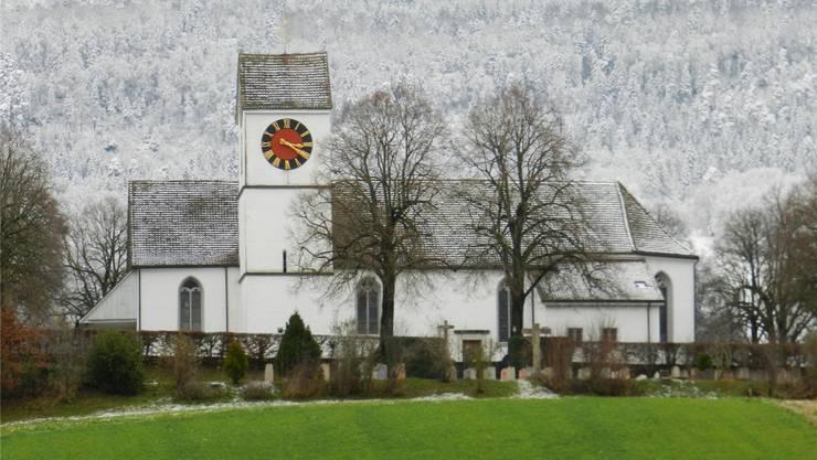Die Kirche St. Pankratius, wie man sie von der Thalstrasse her kennt