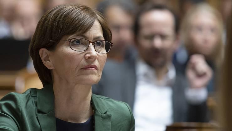 11. Dezember 2019: Regula Rytz (Grüne) hat gegen Ignazio Cassis (FDP) keine Chance.