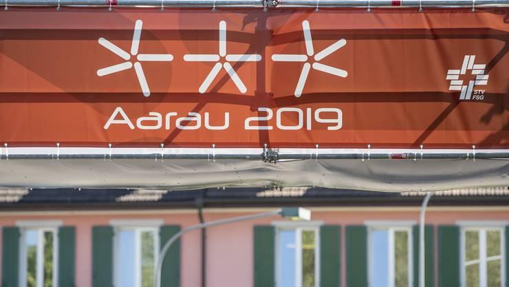 In Aarau findet das Eidgenössische Turnfest statt.