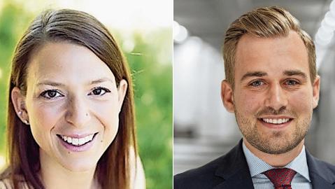 Nicole Baumann und Ivo Graf.