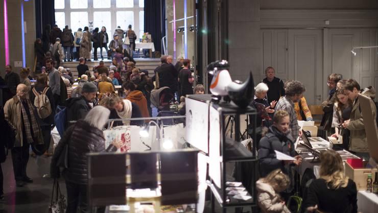 Die erste Ausgabe des Kunstmarkts «Schauwerk» sei vor einem Jahr von Besuchern «überrannt» worden, sagt der Kulturmarkt-Geschäftsleiter.