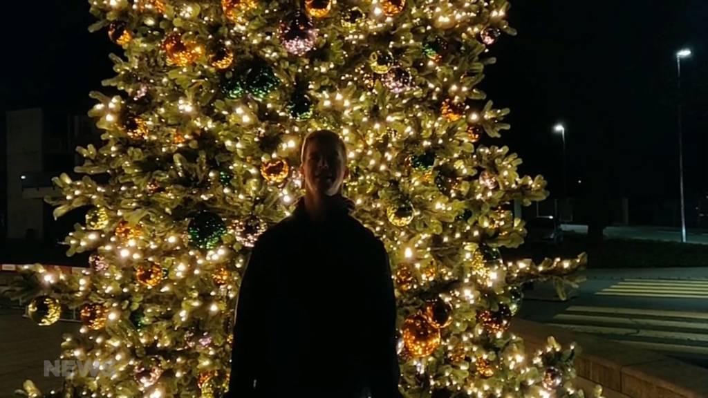 Weihnachtlicher Zuschauer-Gruss aus Worb