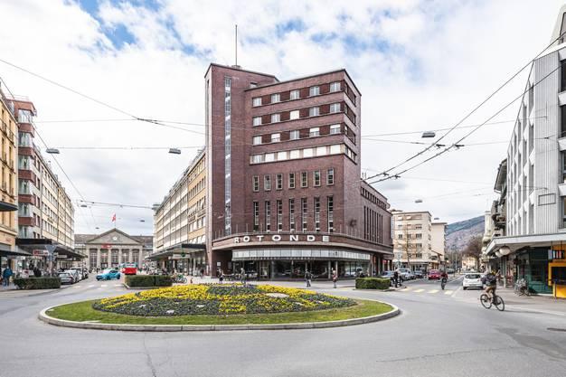 DER Bauhaus-Bau schlechthin in Biel: la Rotonde, das Volkshaus