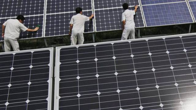 Solar-Panels in China (Archiv)