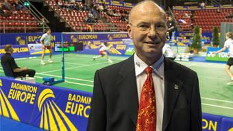 Turnierpräsident Charles A. Keller: «Die Müdigkeit ist befriedigend.»Georgios Kefalas/Keystone