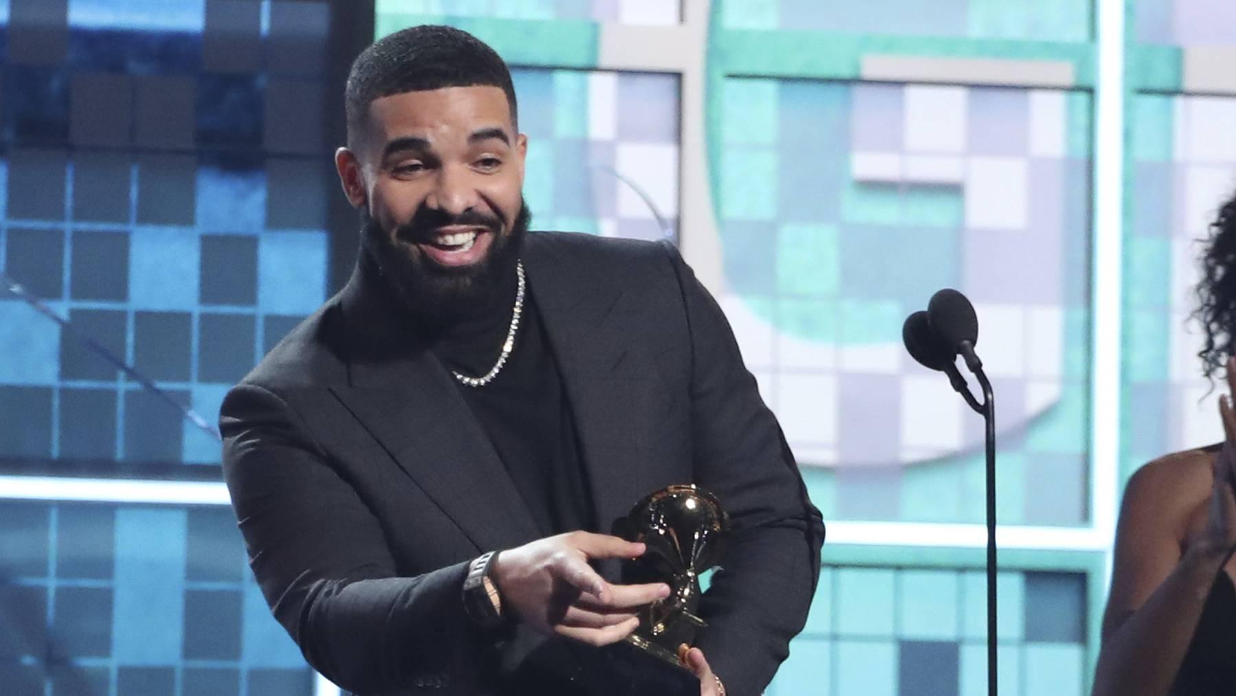 Läuft bei ihm, Drake bei den letztjährigen Grammy-Awards (Archivbild)