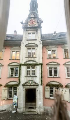 Die Verwaltungszentrale im Rathaus.
