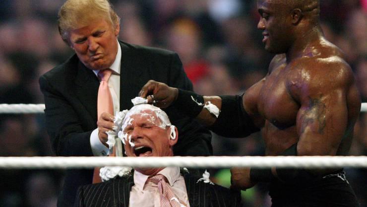 Donald Trump und Vince McMahon – zwei bekannte Gesichter hatten oder haben noch immer ihre Finger bei der XFL im Spiel.