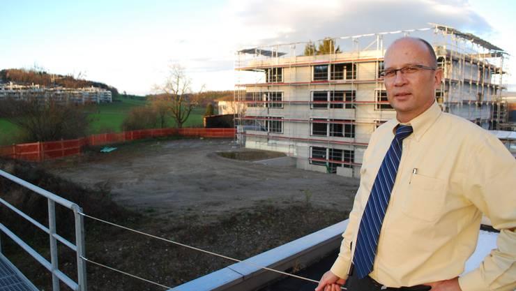 Paul Villiger, der Leiter des Zentrums.
