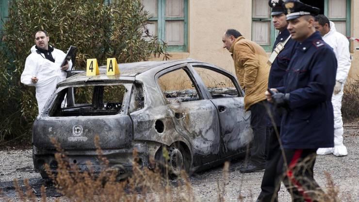 Anschlag der 'Ndrangheta in Kalabrien: Auch in der Schweiz hat sich die Mafia etabliert. (Archivbild)