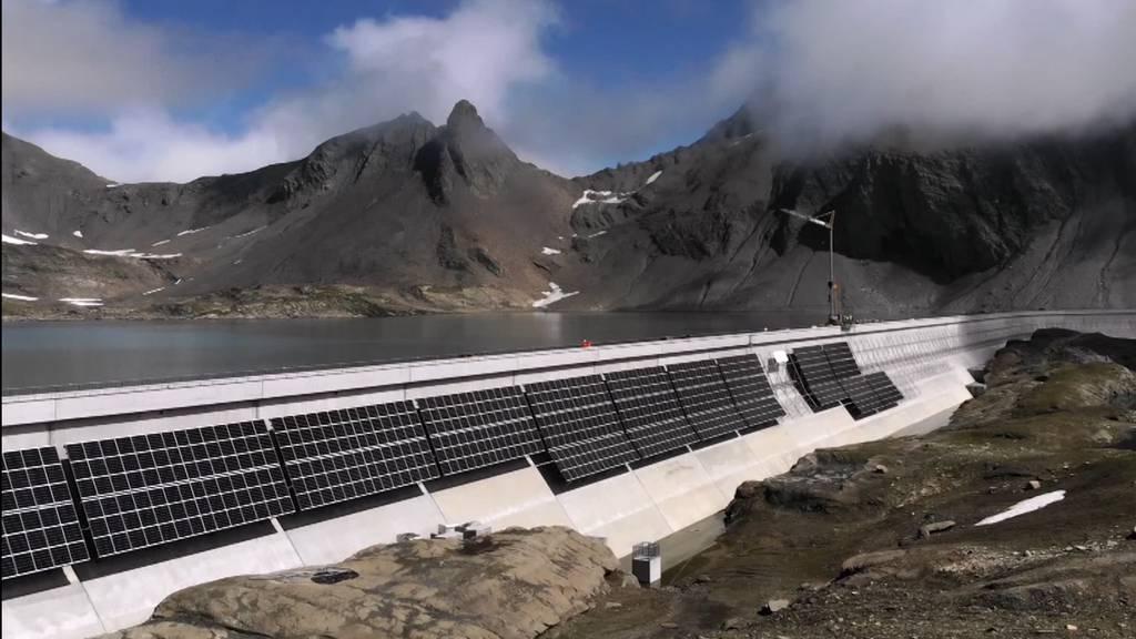 2500 Meter über Meer: Hier entsteht die grösste Solaranlage der Schweiz