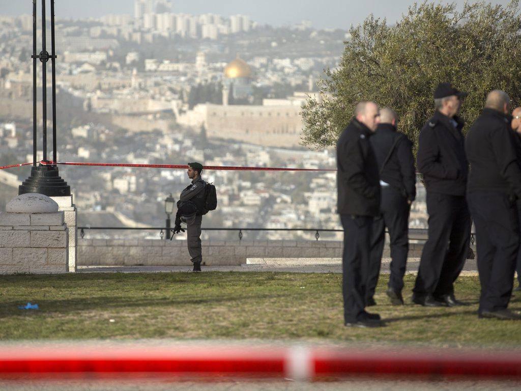 Anschlag in Jerusalem (© EPA/Jim Hollander)