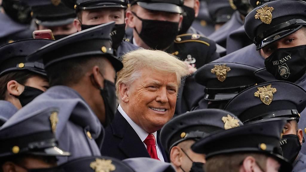 Umfrage: Trump ist der «am meisten bewunderte Mann» in den USA