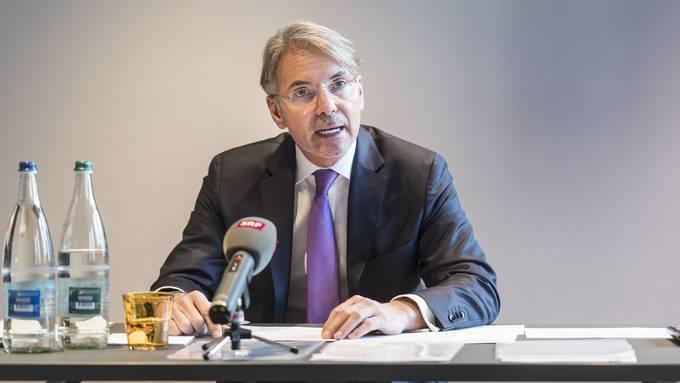Patrick Stach gab am Montag vor den Medien seinen Rücktritt aus dem HSG-Rat bekannt.