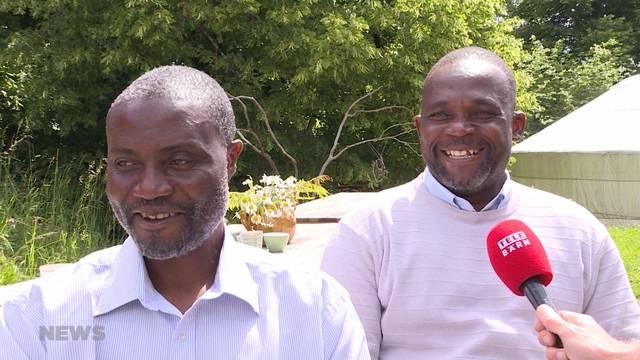 Simbabwische Bauern für kulturellen Austausch im Trub