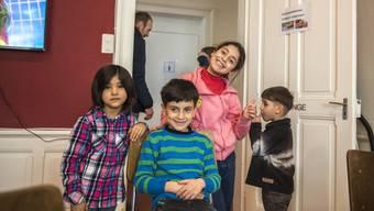 Besuchstag in der Asylunterkunft auf dem Balmberg