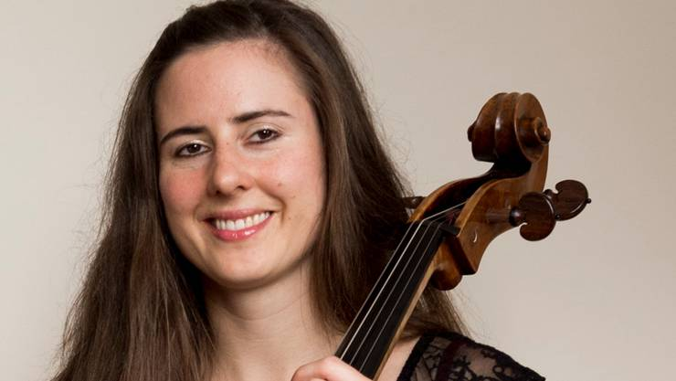 Die Cellistin Daniela Hunziker.