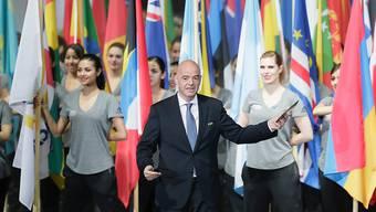 Präsident Gianni Infantino appelliert während der Eröffnungs-Zeremonie des FIFA-Kongresses in Mexiko an die Delegierten, die Reformen umzusetzen. (Mai 2016)
