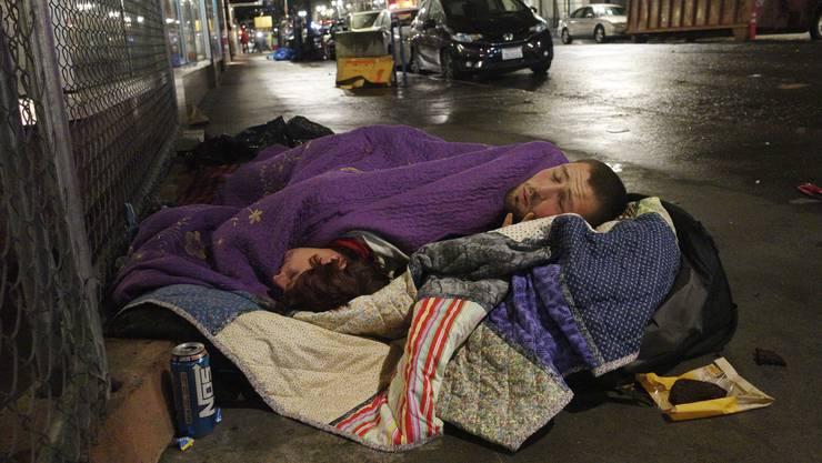 Arme Menschen haben eine sehr viel tiefere Lebenserwartung als reiche. (Symbolbild)