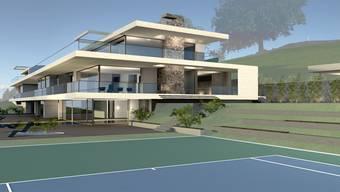 Ist das Roger Federers neue Villa in Herrliberg?
