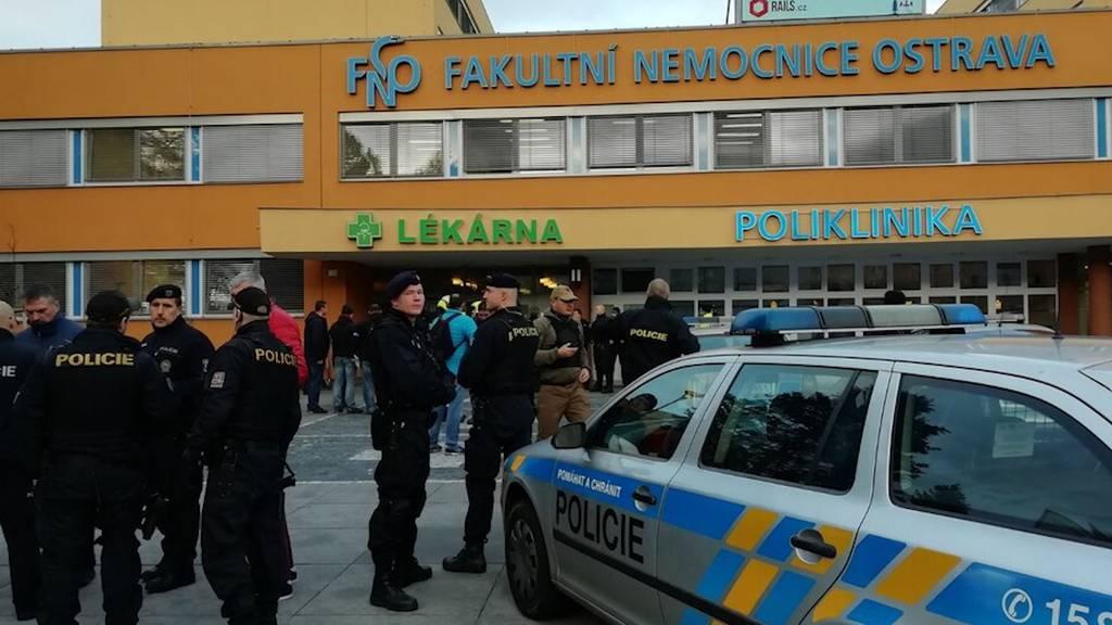 Tschechien: Schiesserei in Spital fordert sechs Tote