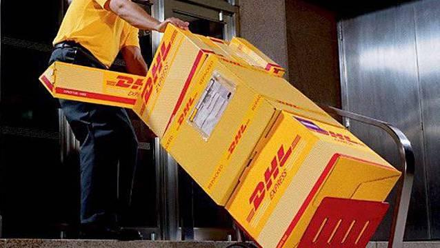 Das Paket reiste mit DHL quer durch Europa. (Symbolbild)