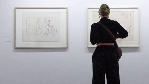 Eine ganze Folge Picasso-Grafiken wird bald im British Museum zu sehen sein (Archiv)