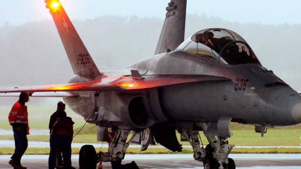 Bund rechnet bei neuen Kampfjets mit Kosten von 18 Milliarden