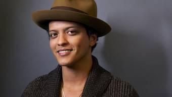 Bruno Mars hat eine Schwäche für Tattoos (Archivbild)