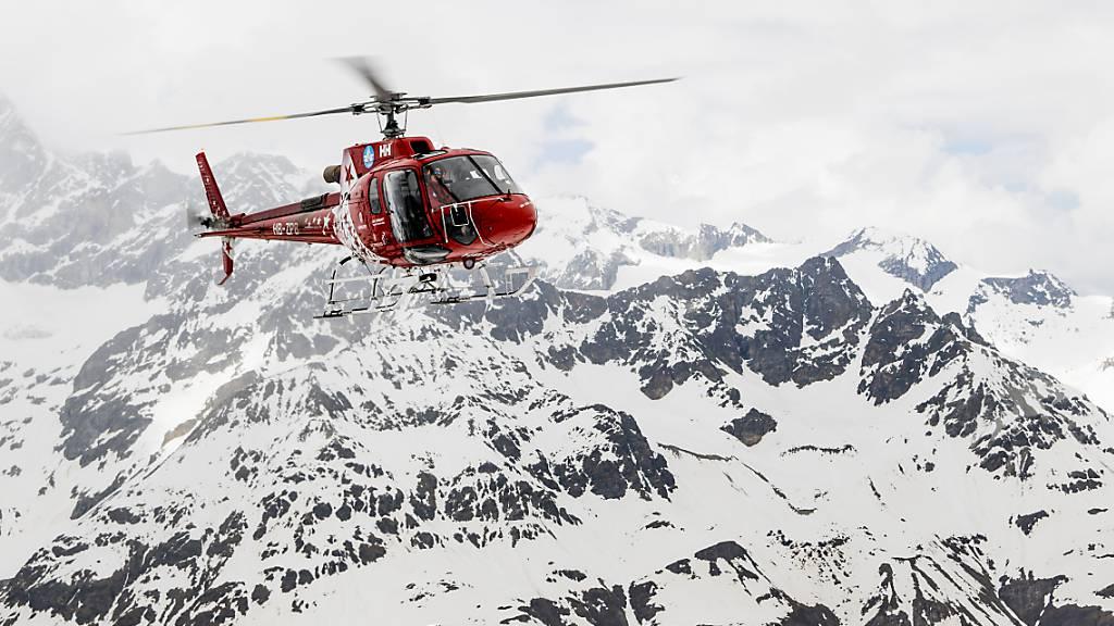 Skitourengänger stürzt bei Zermatt in Gletscherspalte und stirbt
