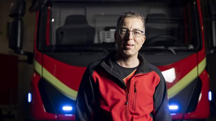 Für André Burkhard heisst es bei der Feuerwehr in Leibstadt Lichterlöschen.