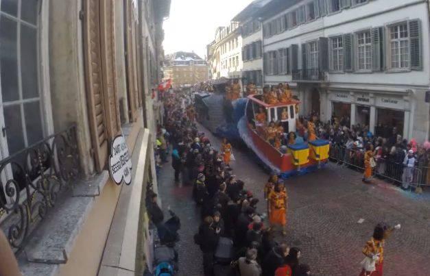 Der Solothurner Fasnachtsumzug im Schnelldurchlauf