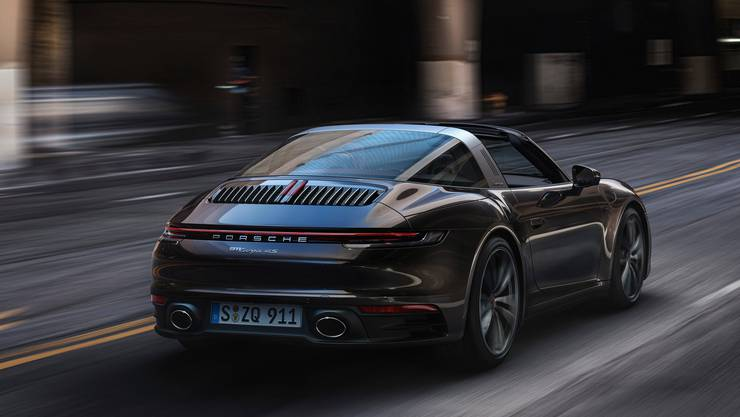 Porsche 911 Targa 4S.