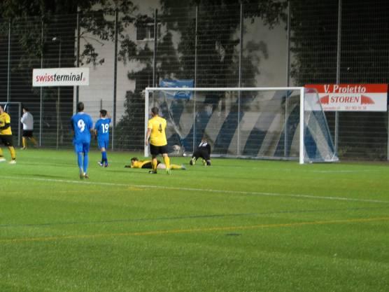 Ein viel umjubeltes Tor vom FC Frenkendorf.
