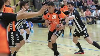 Luka Maros (Nr. 20) erzielte gegen Endingen zehn Tore aus zehn Abschlussversuchen