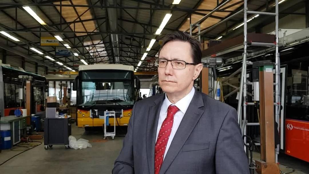 Alex Naef, CEO der Carosserie Hess AG: «Im Verlaufe des Jahres wollen wir den ersten Prototypen für Indien produzieren»