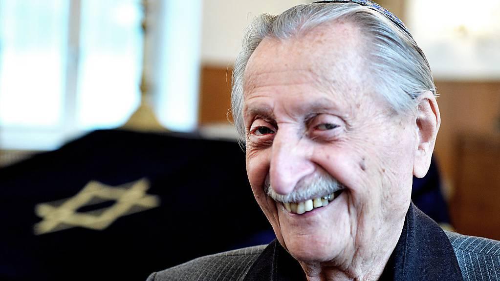 Der älteste Holocaust-Überlebende Österreichs, Marko Feingold, ist im Alter von 106 Jahren gestorben. (Archivbild)