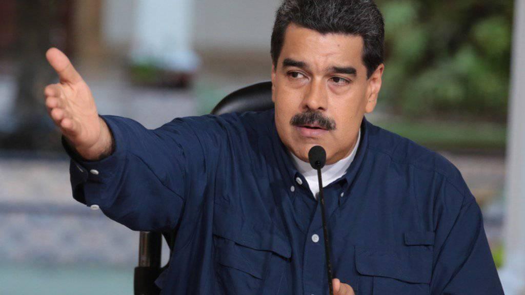 Venezuelas Präsident Maduro hat sich zum Dialog bereit erklärt - aber die Opposition stellt Bedingungen. (Archiv)