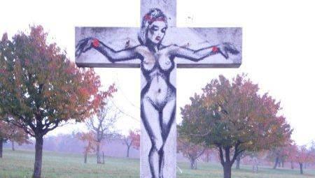 Für eine ein Skandal, für andere ein bemerkenswertes Kunstwerk.