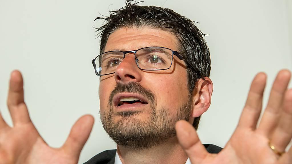 Ex-CVP-Nationalrat, Immer-noch-Gemeindepräsident im Wallis, verurteilter Stalker und sexueller Nötiger Yannick Buttet.