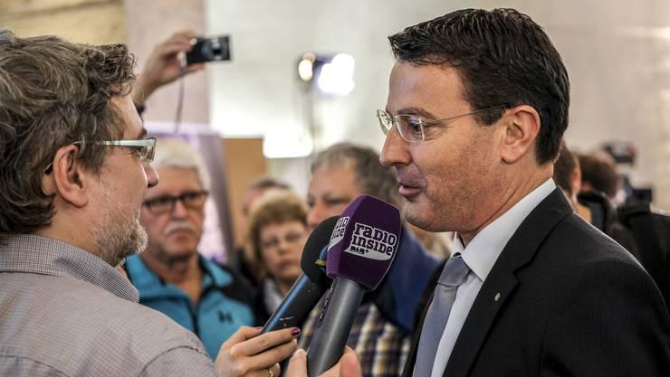 Thomas Burgherr kämpft für ein Ja zu «No Billag» – das stärke die privaten Medien, ist er überzeugt.