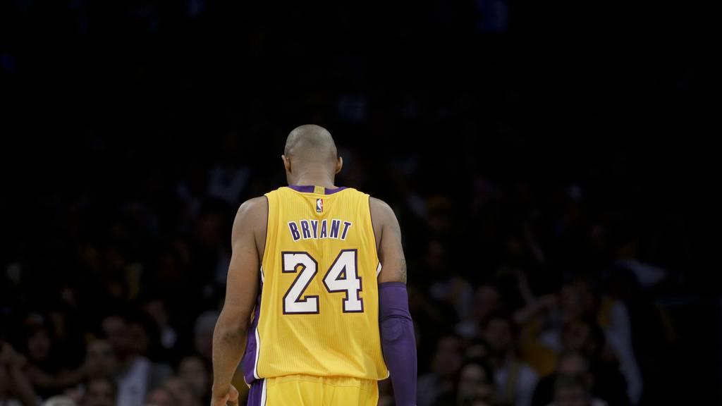 «Eine wahre Legende»: Weltweite Trauer um Basketball-Ikone Bryant