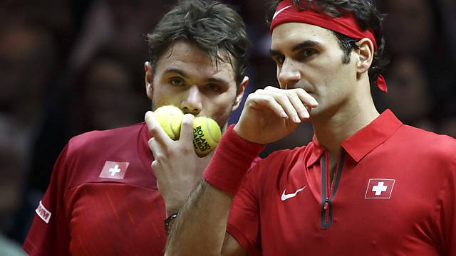 Kein Losglück in Monte Carlo für Stan Wawrinka und Roger Federer