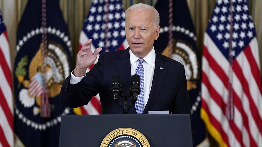 Biden ruft Berechtigte in USA zu Corona-Auffrischungsimpfungen auf