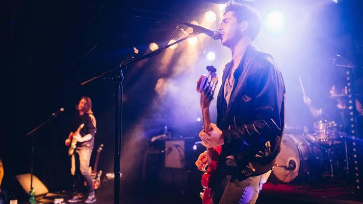 «Überwältigt vom Aufmarsch der vielen Menschen und von der Atmosphäre» waren die Bandmitglieder von «Ricky Harsh» nach dem Konzert im KiFF.