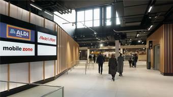 Hell, freundlich, einladend: So präsentiert sich die neue Mall im A1-Center.