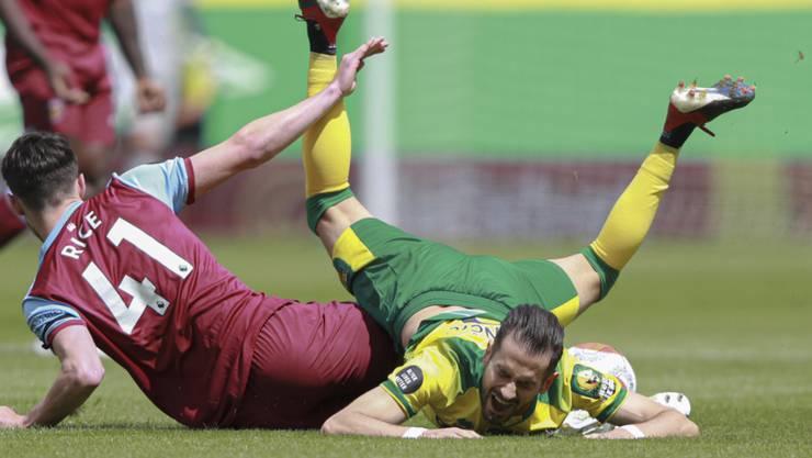 Norwich City gegen West Ham United am Boden: Nach der 0:4-Heimniederlage ist der Abstieg besiegelt