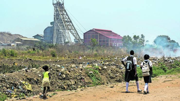 Glencore, hier eine Mine in Sambia, steht im Fokus der Debatte zur Konzernverantwortung.