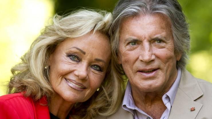 Waren über 30 Jahre verheiratet: Schauspieler Pierre Brice und seine Ehefrau Hella (Archiv)